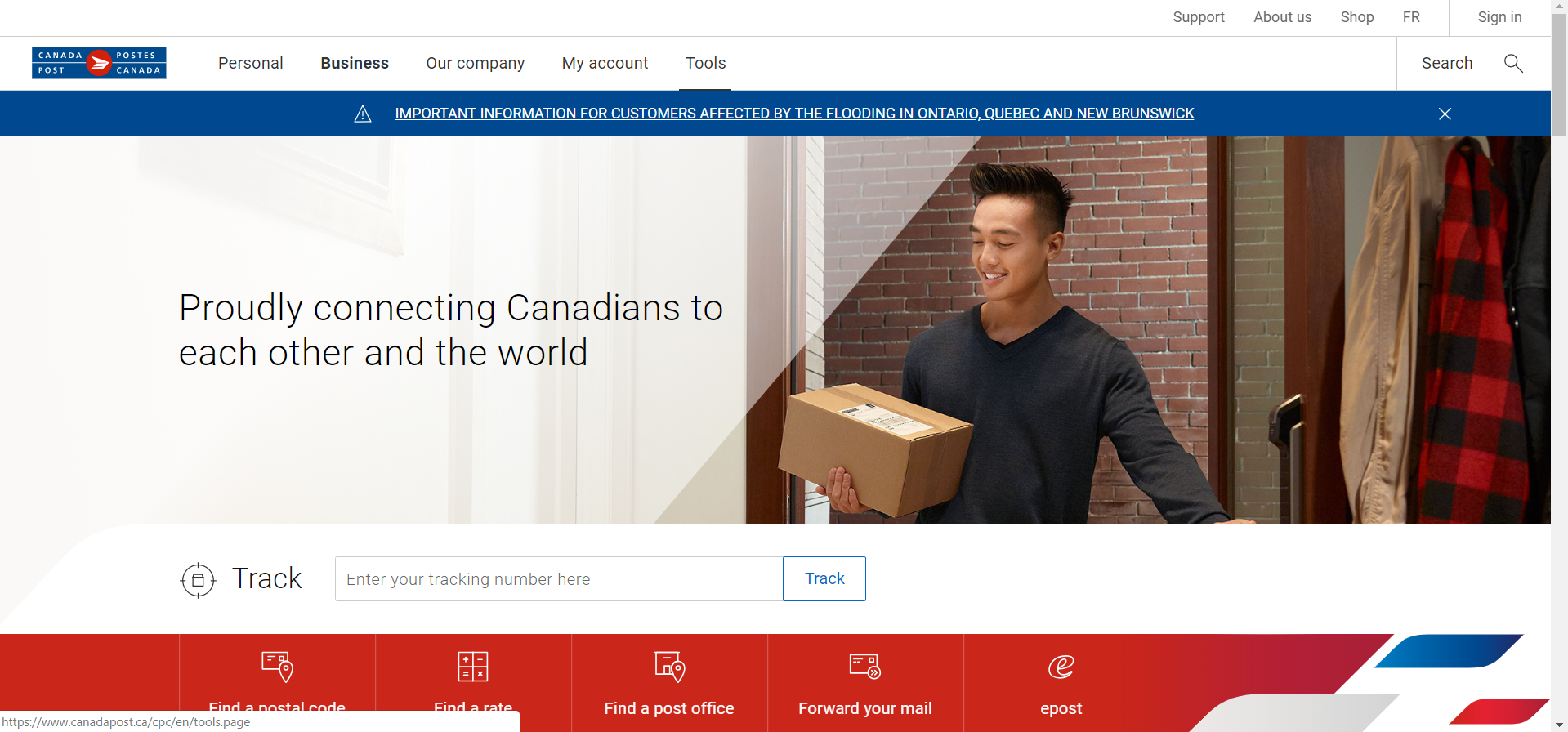 Canada Post office locator