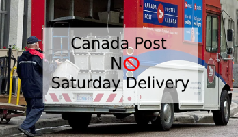 Canada Post No Saturday Delivery
