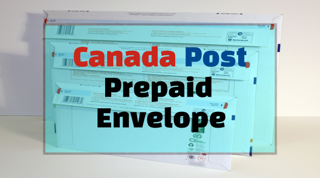canada post flat rate envelope