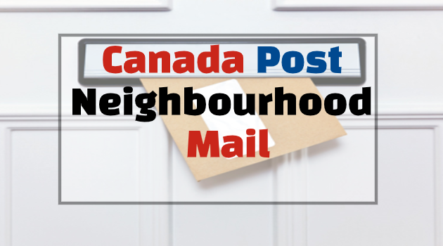 canada post neighbourhood mail