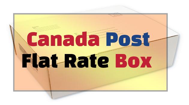 Canada Post Flat Rate Box