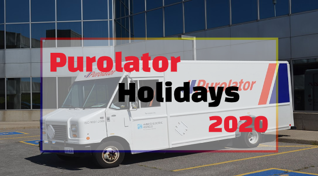 Purolator Holidays 2020