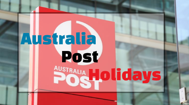 Australia Post Holidays