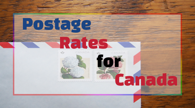 Canada Post Postage Rates for Canada