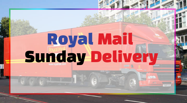 does royal mail deliver on Sunday