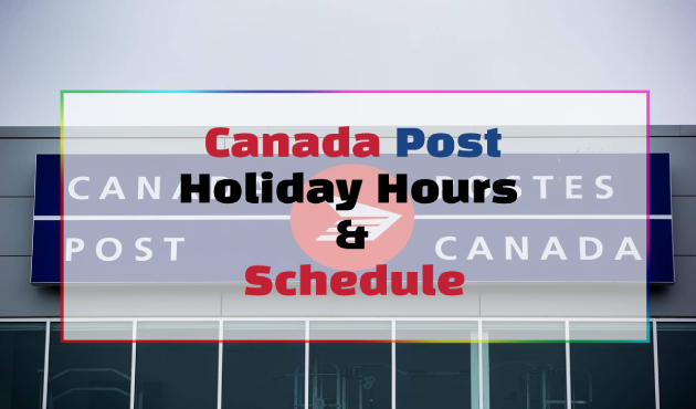 Canada Post Holidays Hours